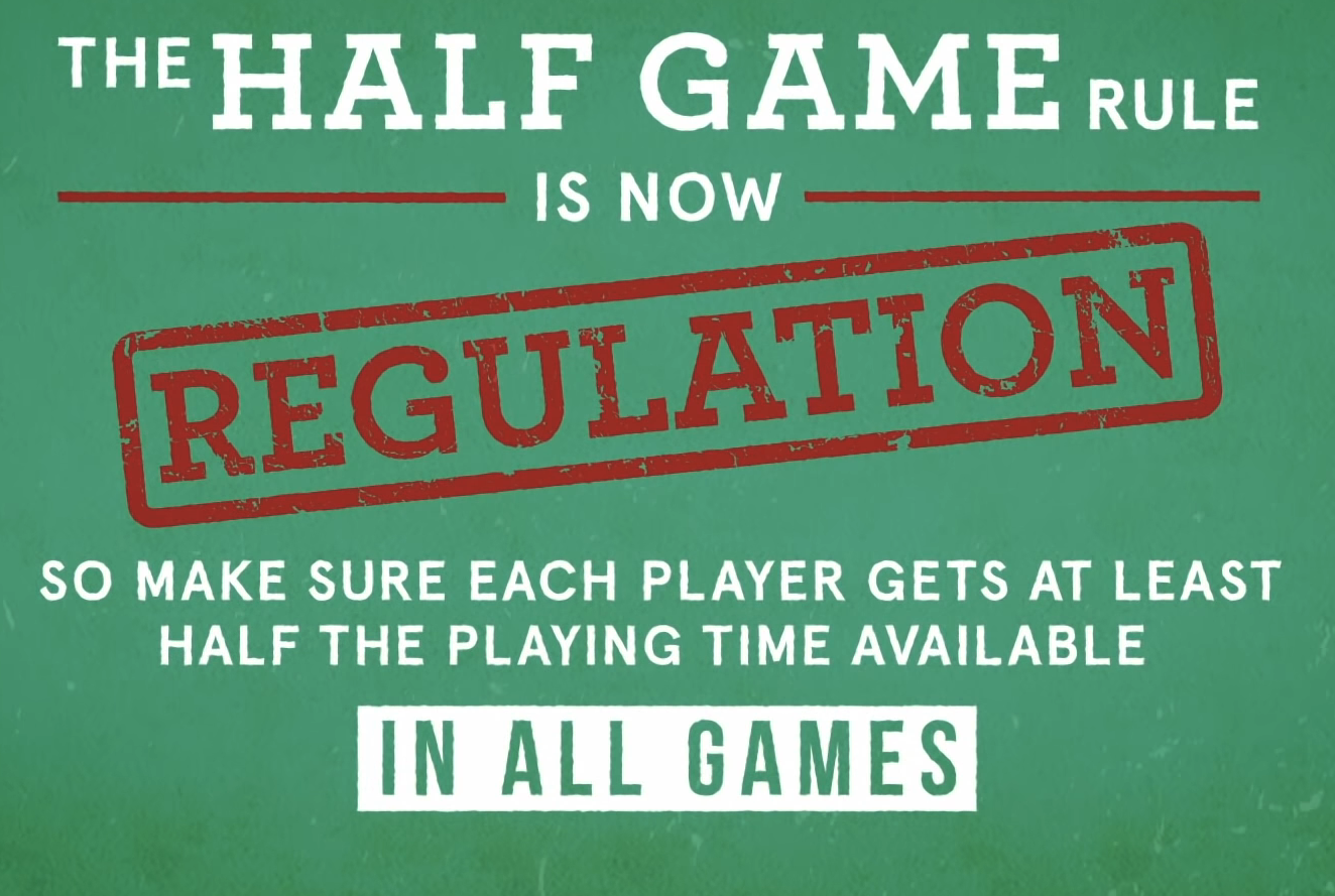 The Half Game Rule
